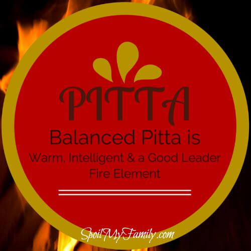 According to Ayurvedic medicine, the Pitta dosha controls digestion, metabolism, and energy production. www.spoilmyfamilly.com #pittadosha #ayurvedicmedicine
