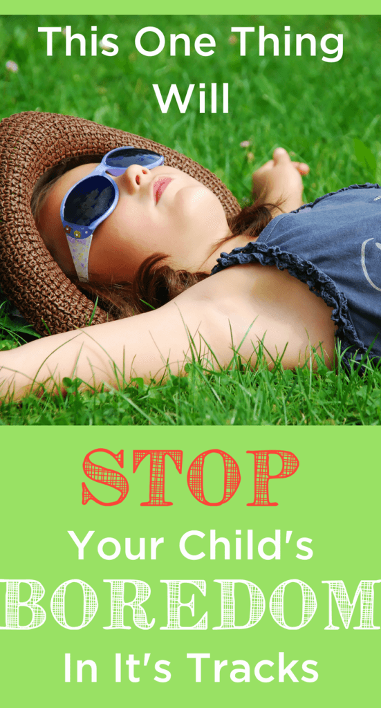 Do only one thing when you have bored children to stop whining and complaining in its tracks! www.themidlifemamas.com