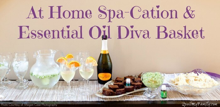 "Throw a stay at home ""Spa-Cation"" party for your besties and give them an essential oil diva basket they'll never forget!"