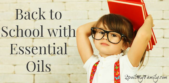 Learn how to send your children back to school with essential oils to get them started on their best school year ever! #backtoschool
