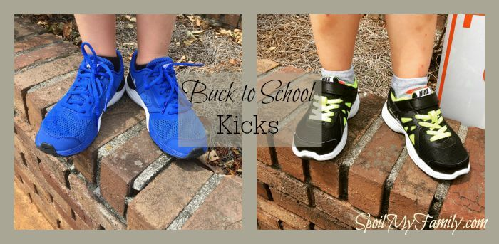 Back to school shoes every year. www.themidlifemamas.com
