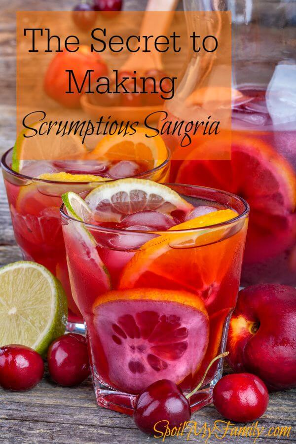 Want a secret for scrumptious sangria? Here's a great tip. And it will might even help you not feel guilty about drinking the sangria! www.themidlifemamas.com #sangria #sangriarecipes #ningxiared #youngliving #ningxiaredrecipes