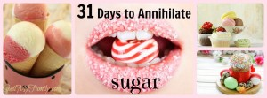 Information, Knowledge, Understanding, Tips, Hacks, Tricks - You'll get it all over the next 31 days. Kick your sugar addiction to the curb! www.themidlifemamas.com