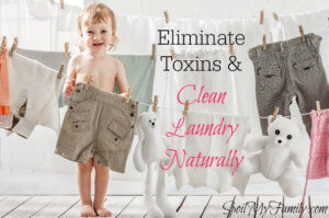 Clean Laundry Naturally without Toxic Chemicals