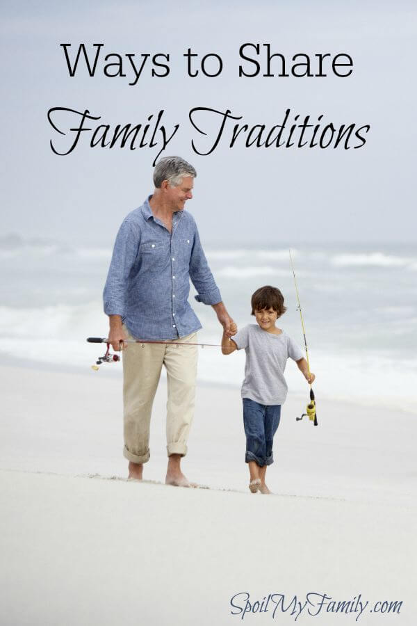 Sharing family traditions is a powerful way to share in one another's lives. www.themidlifemamas.com #familytraditions