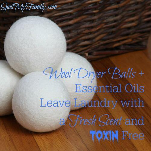These are such a great solution to removing the toxins contained in your traditionally available fabric softeners and dryer sheets to help you clean laundry naturally. www.themidlifemamas.com #cleanlaundrynaturally #cleanlaundry #naturalcleaners #nontoxiclaundry #laundrywithouttoxins #nontoxiccleaning #essentialoils #essentialoilsforcleaning #essentialoilsforlaundry #soapnuts #wooldryerballs