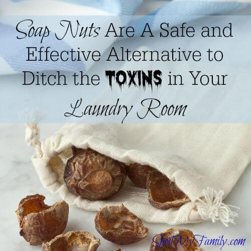These can help you ditch the toxins in your laundry detergent. Find out what soap nuts are and how to use them to clean laundry naturally. www.themidlifemamas.com #cleanlaundrynaturally #nontoxiccleaning