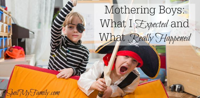 When I found out I was having a boy, a million thoughts ran through my head. What I've learned is that mothering boys isn't everything I was expecting... www.themidlifemamas.com #motheringboys