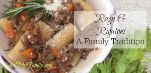 Easy Ragu Recipe – Family Traditions