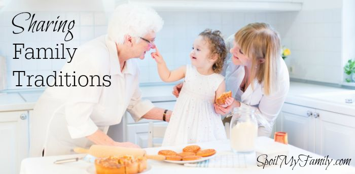 Sharing Family Traditions www.themidlifemamas.com #familytraditions