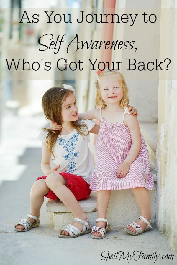 Once you step onto that path of self discovery, who's got your back? How can you find out? www.themidlifemamas.com #selfawareness #support