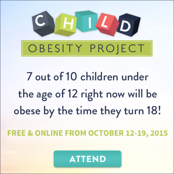 The #childobesity project is the most amazing program that I've seen. It is so comprehensive in addressing issues of child obesity. But the information here doesn't just pertain to children, it pertains to all of us! For 8 days, 27 speakers will share their information on all topics related to obesity - social, emotional, metabolic, physical, and political. It's all here!