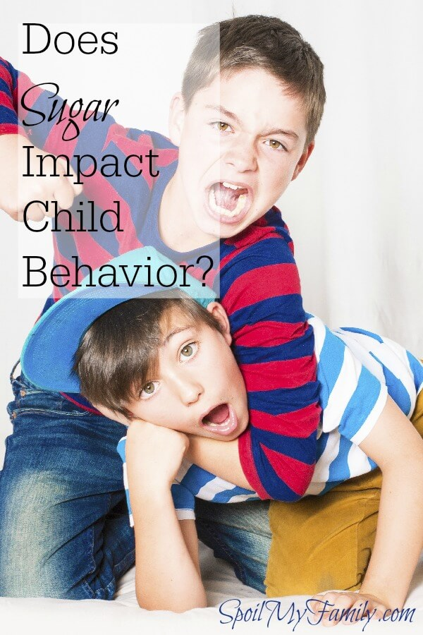 Can sugar affect behavior? Do you believe what the science has been saying for decades? www.themidlifemamas.com #childbehavior #write31days #sugaraffectbehavior