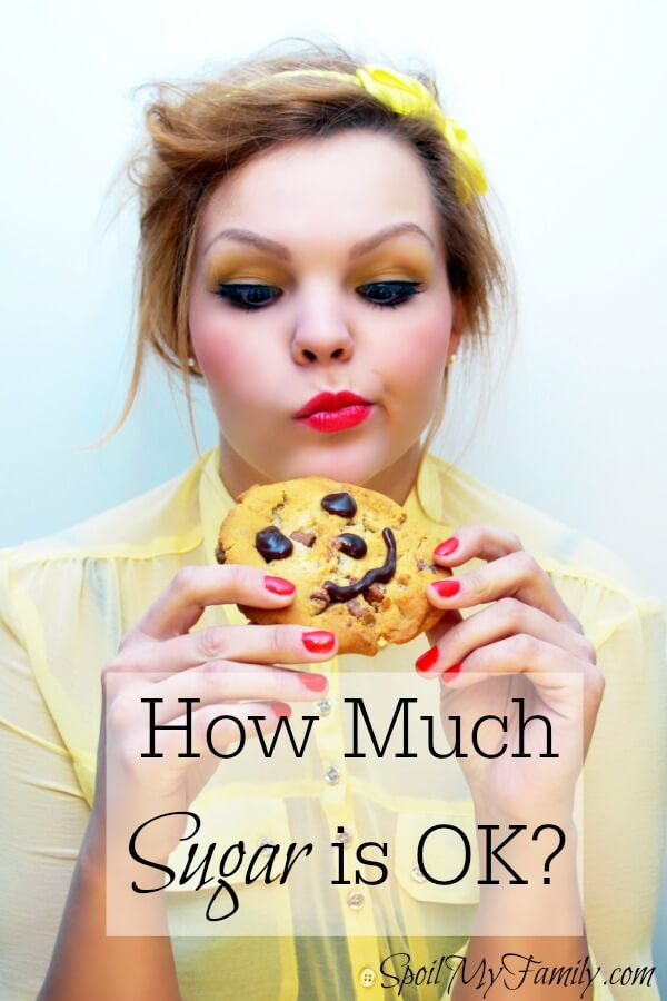 How much refined sugar is too much in one day? Is it different for men, women, and children? This is what you need to know about how much sugar you can have during a day without negatively impacting your health. www.themidlifemamas.com #sugar #write31days #sugaraddiction #sugaraddict