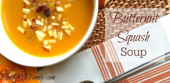 Does eating soup, especially squash soup, make your kids want to do homework instead? Here's the secret you need to know to get them eating that squash soup... #easysouprecipe #souprecipe #vegetarian #vegetariansoup #butternutsquashsoup #butternutsquashsouprecie