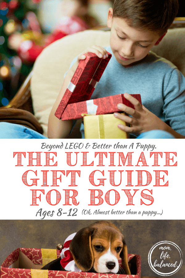LEGOs for boys are about as ubiquitous as mom's frustration with organizing all those fun awesome LEGOs! At our house, we love all the cool LEGO sets for building and, I'll be honest, my boys spend hours upon hours with their LEGO ideas, creations, games, and projects. But we also love going beyond the typical LEGO sets for boys. So here is a great gift guide for boys filled with ideas that will satisfy any curious and creative guy you need a gift for! #legosforboys #giftguideforboys #giftsforboys www.themidlifemamas.com