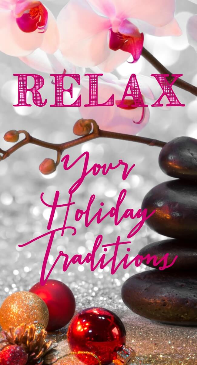 I was wondering how to make Christmas traditions more relaxed - I was ready to pull my hair out and this made so much sense! www.themidliflemamas.com