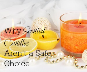 Scented candles may be putting way more into your air than you bargained for. Make sure you know the truth and the alternatives before deciding if scented candles are right for your family! www.themidlifemamas.com