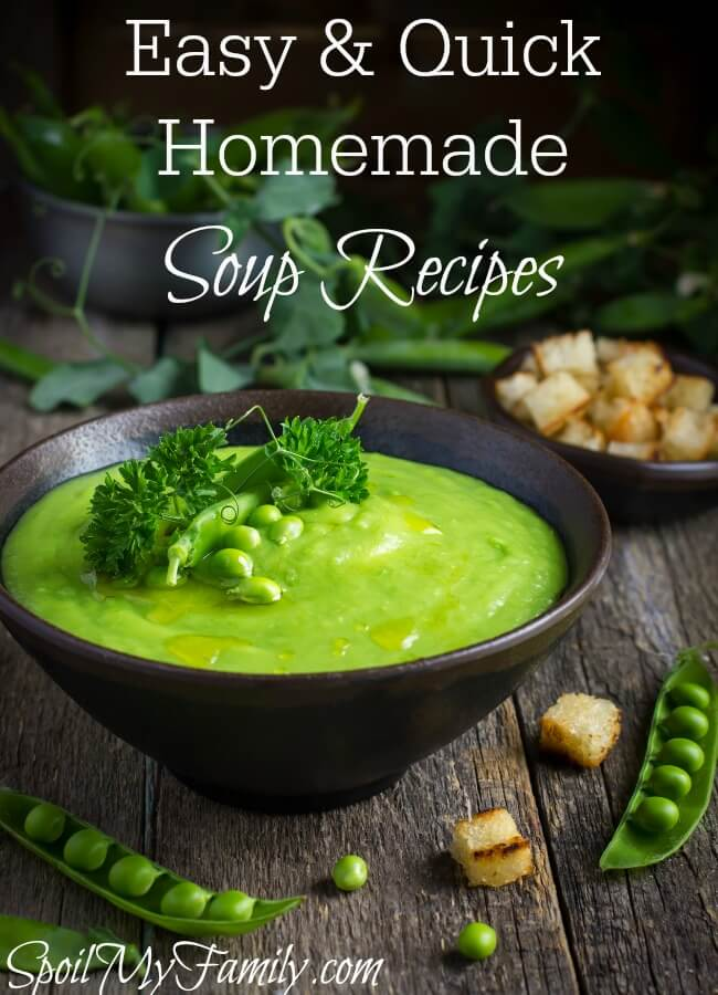 I love homemade soup! One of the reasons that I love soup is because it so so easy and versatile to make and serve. www.themidlifemamas.com