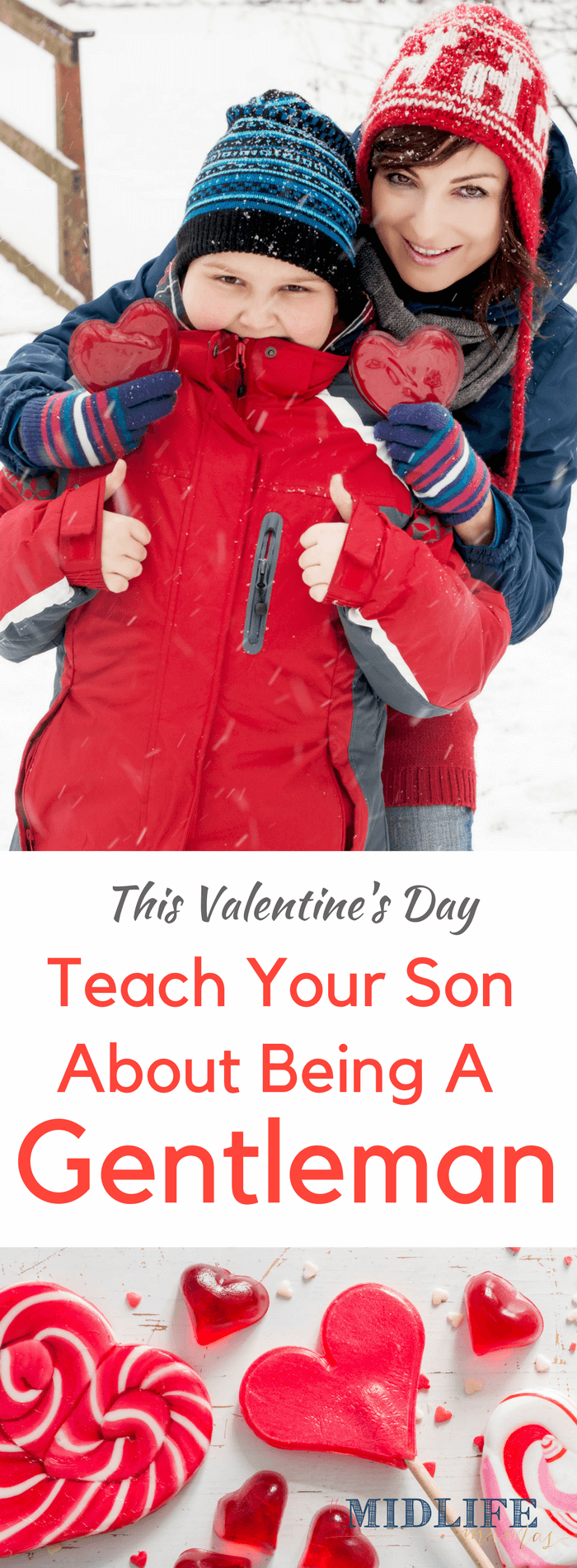 I adore being a boy mom - but with that great privilege comes the responsibility of raising boys who grow up to become gentlemen. While they are still young, we have to begin to teach our young teens about healthy relationships. Valentine's Day provides a perfect opportunity to teach your young teen about healthy relationships and love! #youngteen #healthyrelationship www.themidlifemamas.com