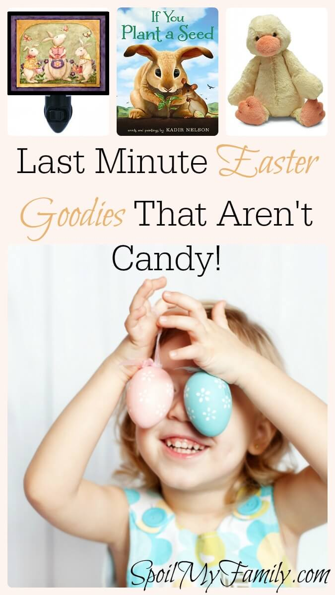 I love these easter basket ideas that aren't candy! www.themidlifemamas.com