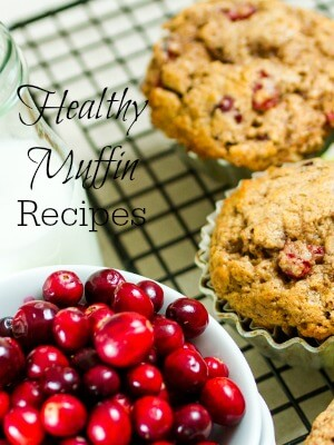 Healthy Muffin Recipes Sidebar