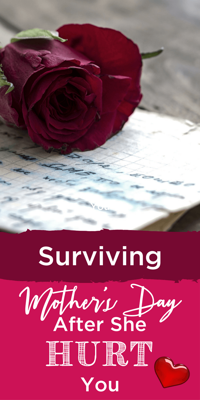 Finding the right Mother's Day card can be tough if you have a difficult relationship with your mom. Maybe you can still pull gratitude from the ashes. www.themidlifemamas.com