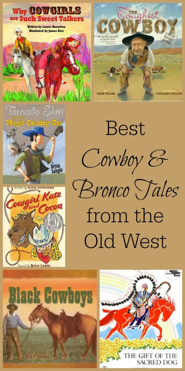 Children's stories about the Old West are great for all ages. I love that this list is diverse and has something for everyone! www.themidlifemamas.com