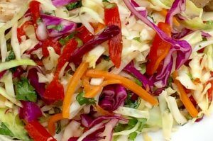 Tried and True Firecracker Slaw Crushes Your Potluck Competition