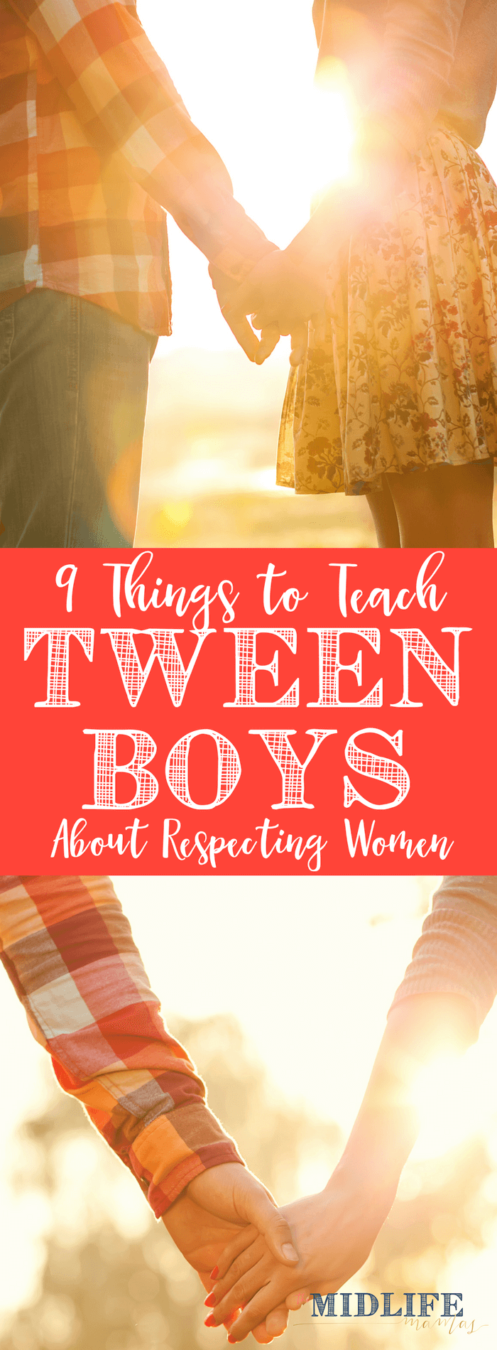 I want to raise boys not just to be men, but to be gentlemen, starts long before they are tweens or teenagers. This post is the perfect place for any mother of boys to start teaching her boys to respect women. There are so many small things that we can teach and model - starting even when they are toddlers! www.themidlifemamas.com