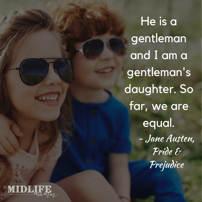 Children's books that defy gender stereotypes are great conversation starters! I love having something as easy as a book to help me ask some great questions! #genderroles #childrensbooks www.themidlifemamas.com