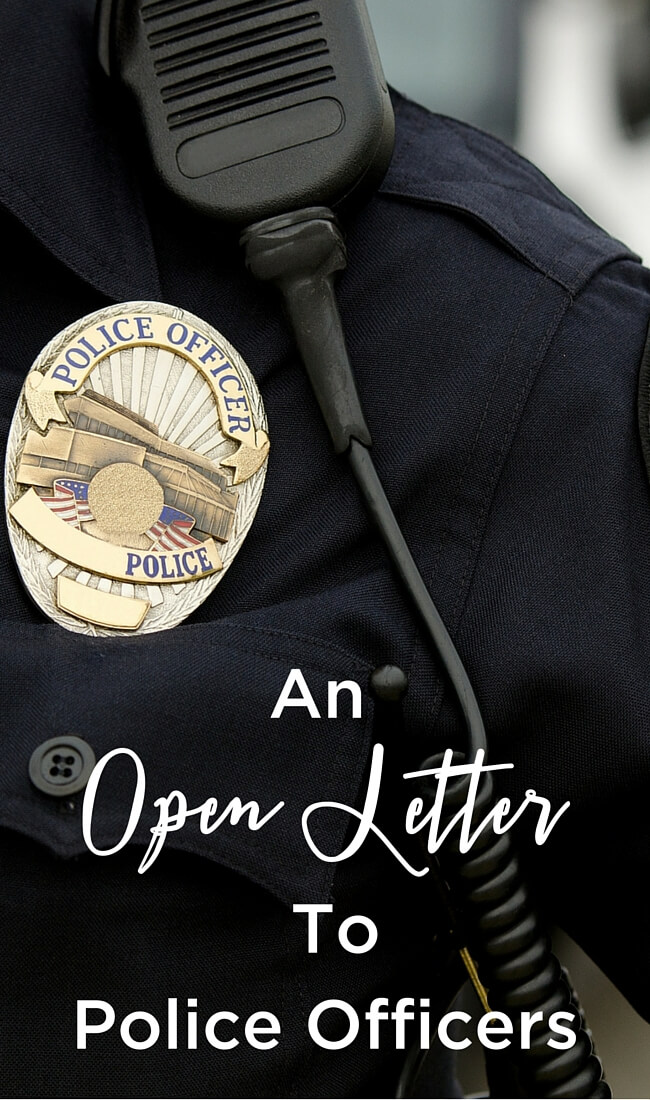 An Open Letter To Police Officers: I know you're receiving and feeling a lot of rage right now. But your communities need you. We need your understanding and your heroism to shine. Here's how... www.themidlifemamas.com