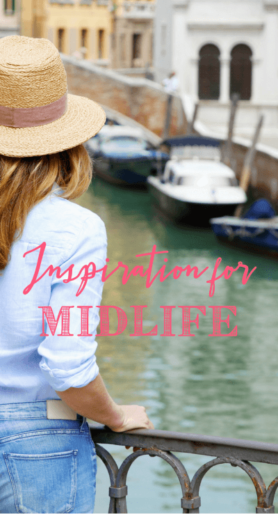 Midlife inspiration - we can all use a little bit every day! www.themidlifemamas.com