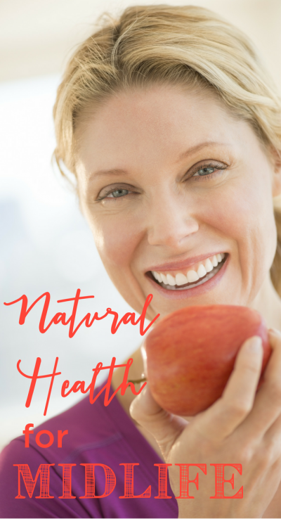 In midlife, our health is more important than ever! I love all these tips for natural health in midlife! www.themidlifemamas.com