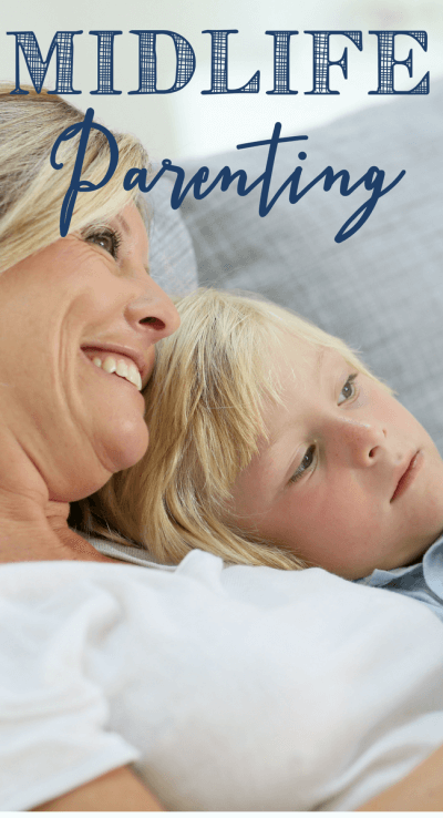 Midlife parenting is such a unique experience and I know I was a better mother for it! www.themidlifemamas.com