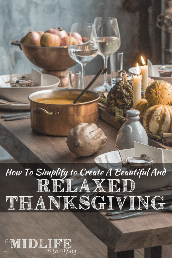 I want stress free and relaxing holidays for me and my family. I wanted to have the time to give thanks for our every-day, simple pleasures that can be taken for granted. But the holidays are busy, stressful, and overwhelming. So I re-worked our traditions and came up with tips for a stress free Thanksgiving. Cheers to recognizing the ordinary miracles and giving thanks for those simple pleasures that we have every day! #simplepleasures #givethanks #gratitude www.themidlifemamas.com