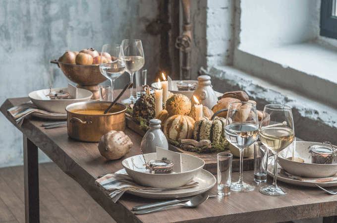 Giving Thanks for Simple Pleasures Powerfully Transforms Your Holiday Into Something Sophisticated & Satisfying