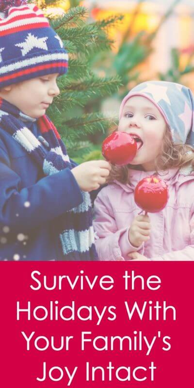 Do you want to survive the holidays? What about thriving during the holidays - and making it through with your family's joy intact? This one thing, done consistently, will get you and your family through your most joyous holiday ever! www.letslassothemoon.com