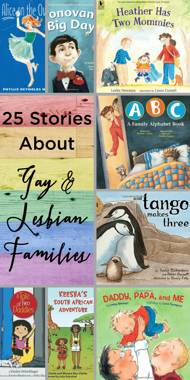 I love these stories for children about gay and lesbian families that do all the same things other families do every day. www.themidlifemamas.com