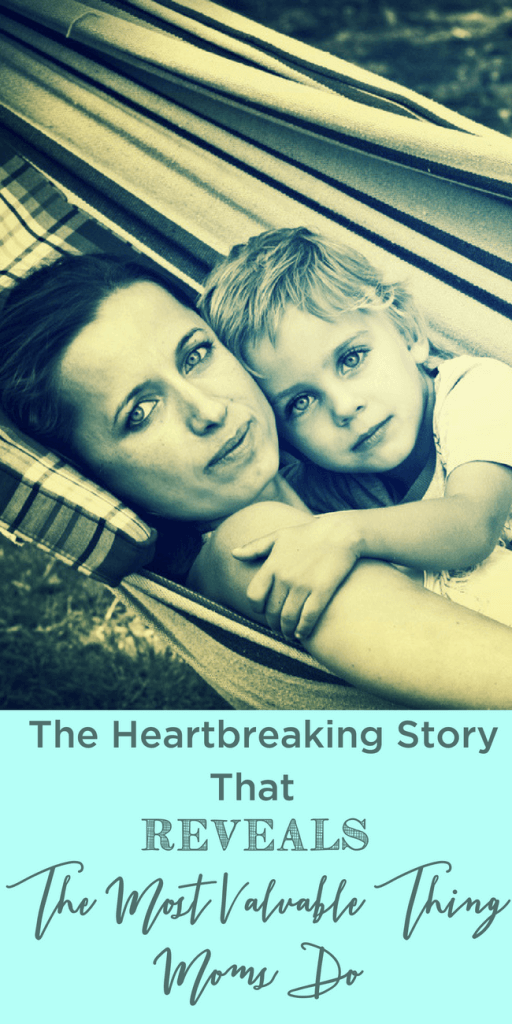 What is that one thing we use to define motherhood? This is the heartbreaking story that reveals the most important thing mothers do. www.themidlifemamas.com