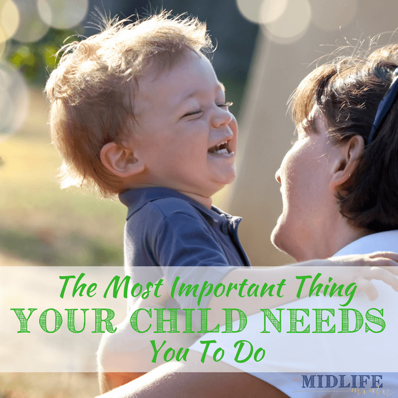 Dear Mom who feels like she's failing. Is there one thing we use to define motherhood? To figure out if we're doing ok as moms? This is the heartbreaking story that reveals the most important thing mothers do. #motherhood #goodmom #dearmom www.themidlifemamas.com