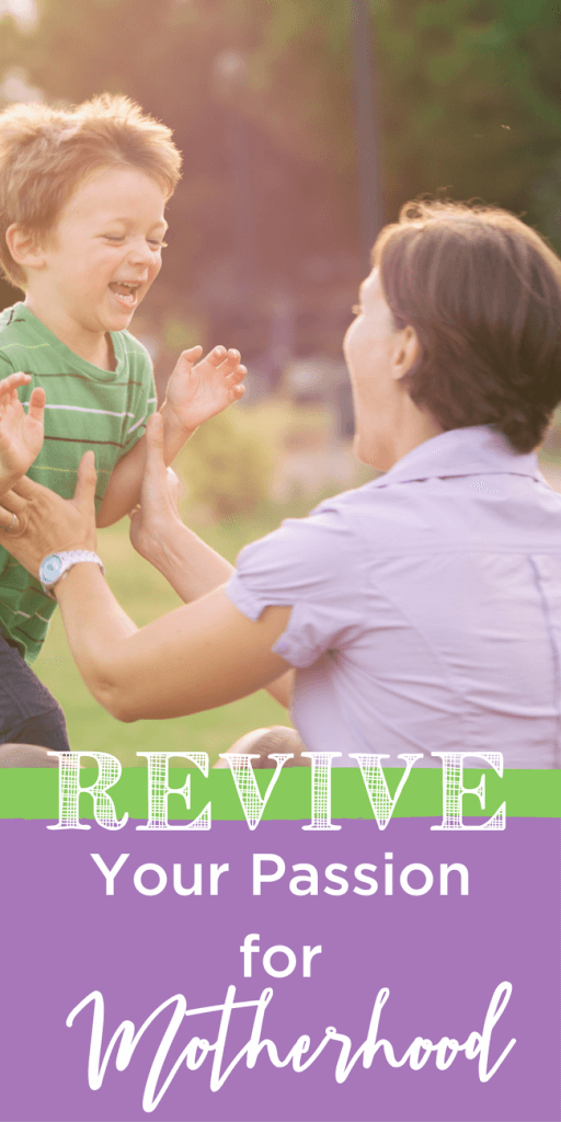 So many sources of stress can make motherhood feel like being run over by a Mack truck. But I've found two ways to revive my passion for motherhood! www.themidlifemamas.com