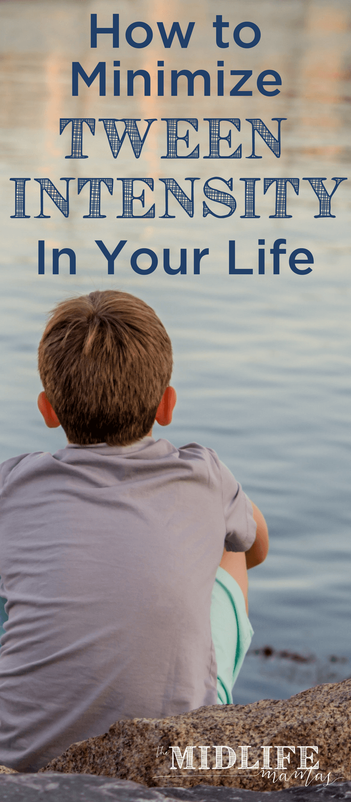 Tweens are INTENSE! But there are steps that you can take to minimize the tween intensity in their lives. Everyone is happier when tweens are less intense! www.themidlifemamas.com