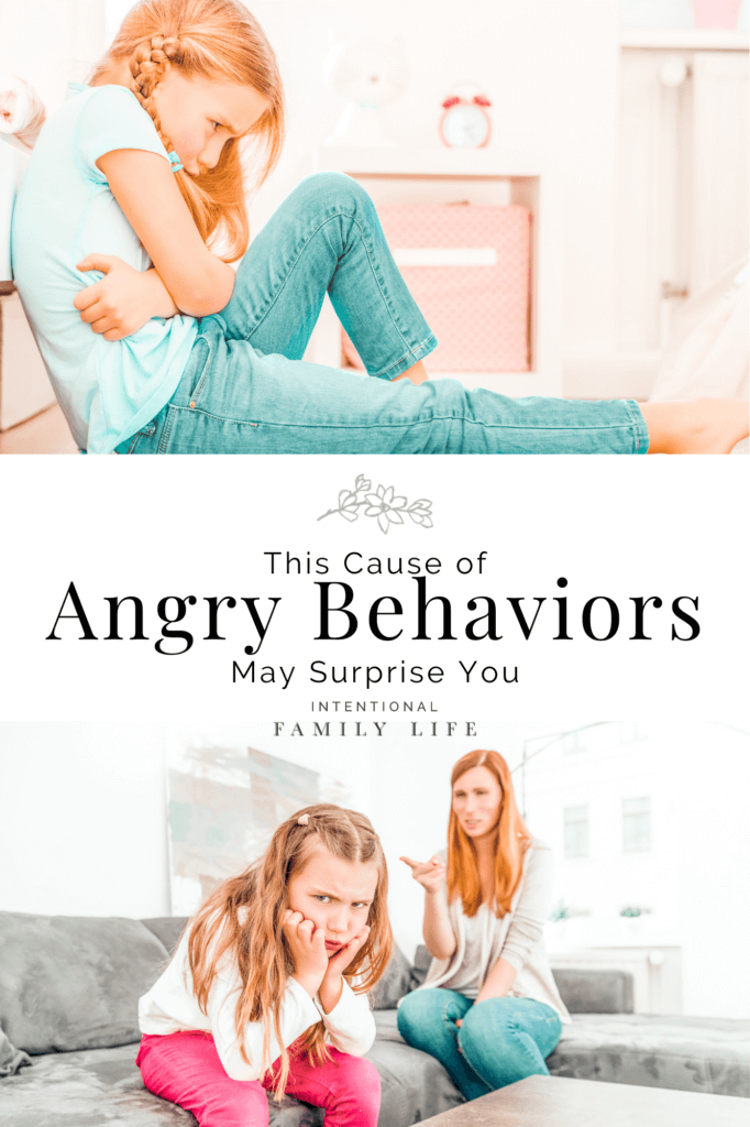 As a mom, it's hard to watch your highly sensitive child turn into an angry kid right before your eyes! Parenting and learning how to deal with an angry kid is not what any of us planned for. But, there is good news – there are ways to manage anger, sensory hacks, and coping skills. This article is a really good and easy place to start once you've gone beyond the usual suspects. Two common causes of angry kid behaviors are sugar sensitivity and worries. This helps with both! #angrychild #intensechild www.intentionalfamilylife.com