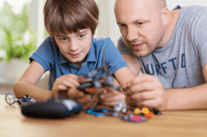 Are you looking for the perfect, engaging, and long-lasting cool games for boys who tinker? Finding educational activities, games, and toys that allow them to create their own tinker lab can be tough. The ideas and projects listed here have kept my kids engaged and curious for hours! #educationalactivities #elementary www.themidlifemamas.com