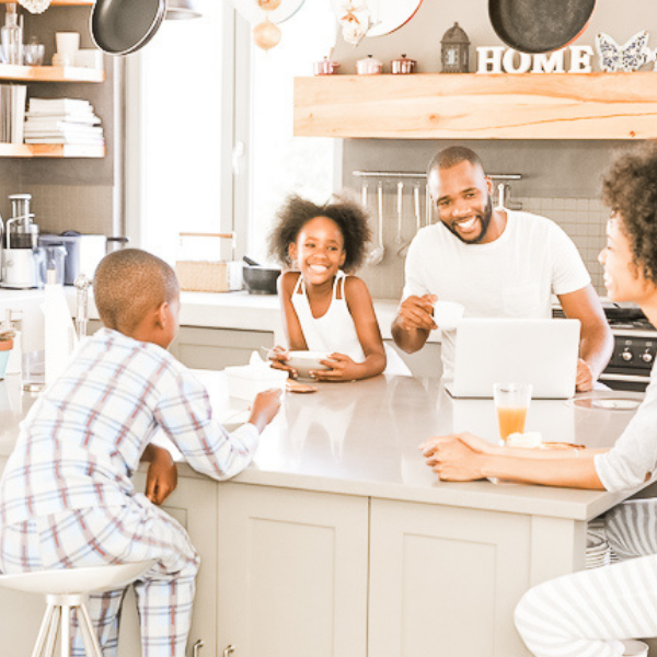 As our children grow up, it gets harder to find ideas and activities to foster strong family connections. But this idea for a family meeting that parents can use to build a strong family connection that lasts and lasts! #familyconnection #familymeeting www.intentionalfamilylife.com