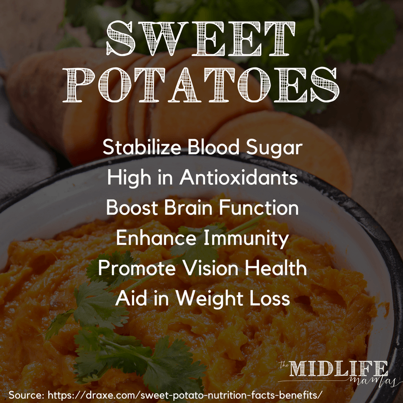 These quick and easy sweet potato muffins just may top my list of healthy muffin recipes! They are gluten free, egg free and dairy free! But they are a perfect on the go breakfast for kids; they are super moist and naturally sweet from sweet potatoes and applesauce. These healthy muffins are a perfect anytime snack for one or a crowd. #healthymuffins #sweetpotatomuffins #healthymuffinrecipes www.themidlifemamas.com