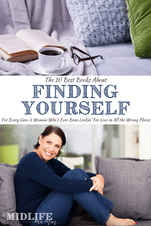 This post shares the books about finding yourself that I have personally have enjoyed reading as a woman in my 40's (ok, so I really just turned fifty - I'm easing into it slowly). Each book is filled with thoughts, truths, and words of encouragement for women inspiring you to be the best you can be. Some take a tough love approach, some women open their hearts and souls in their writings, and others have shared with humor. What these books don't do is tell you what your best looks like for you. I am about helping you dig inside to discover the very best version of yourself and then to learn how to be the best version of yourself. #wordsofencouragement #bestbooksaboutfindingyourself #selfhelp #bestversionofyourself www.themidlifemamas.com
