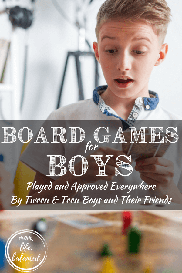 If you're looking for cool games for boys that go beyond the traditional Battleship and Twister – look no further. This is the best list of awesome fun games for kids – games filled with adventure, intrigue, and that are also tried, true, and guaranteed to have everyone laughing their socks off! #coolgamesforboys #gamesforboys www.themidlifemamas.com