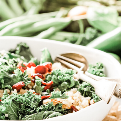 The Perfect Cozy & Comforting Winter Kale Salad